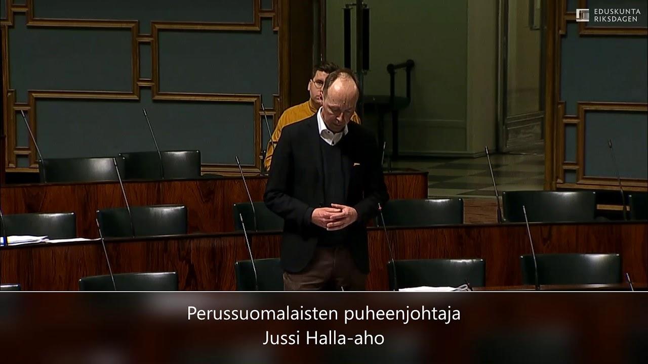 Halla-Aho Youtube