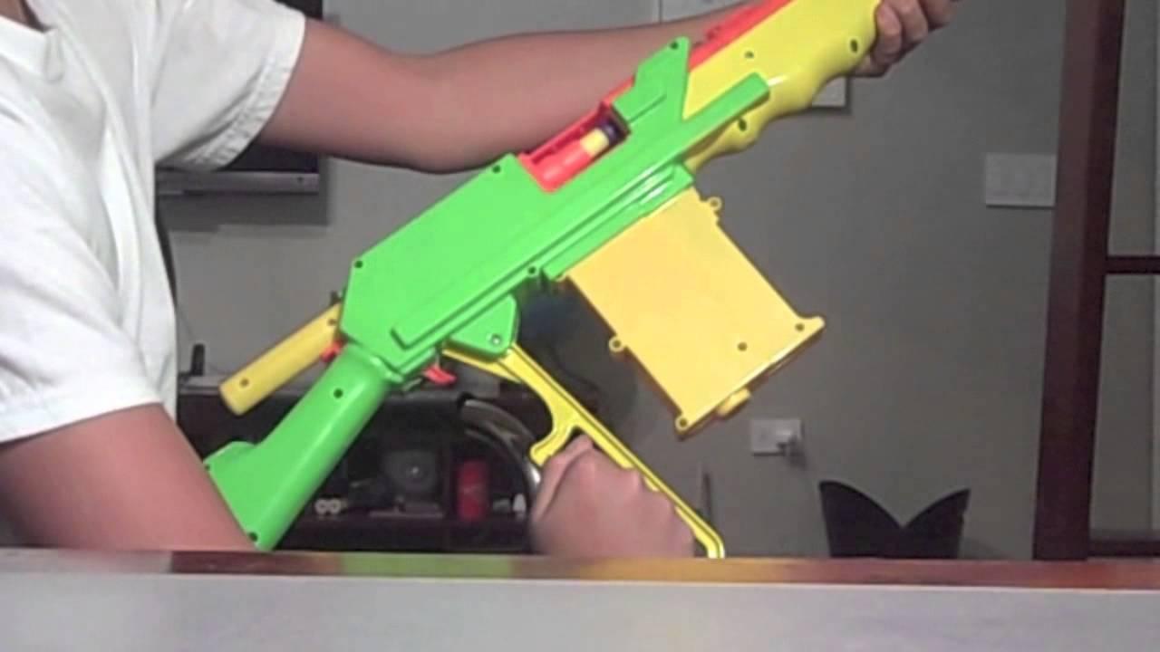 Buzz Bee Rapid Fire Tek Review/Unboxing - YouTube