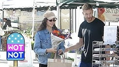 Calvin Harris Gives Coachella A Miss, Spotted Buying Flowers with Girlfriend