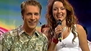 Jasmin Wagner (Blümchen) + Oli Pocher @ VIVA Interaktiv (31.05.2000)