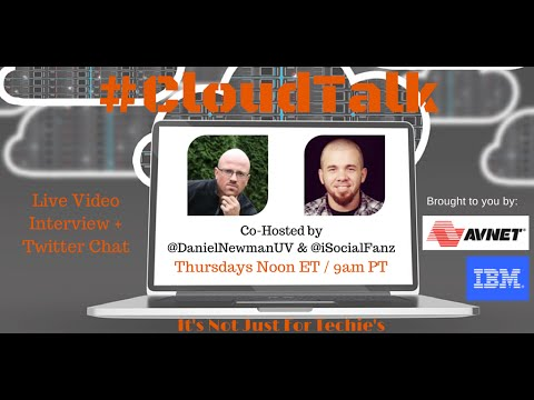 How To Join The Twitter Chat & Watch The Hangout For #CloudTalk