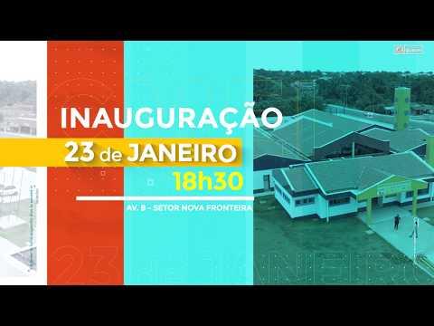 CONVITE INAUGURAÇÃO CEMEI SENADOR JOÃO RIBEIRO-EDUCA GURUPI
