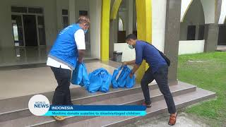 Ahmadi Muslims donate supplies to disadvantaged children