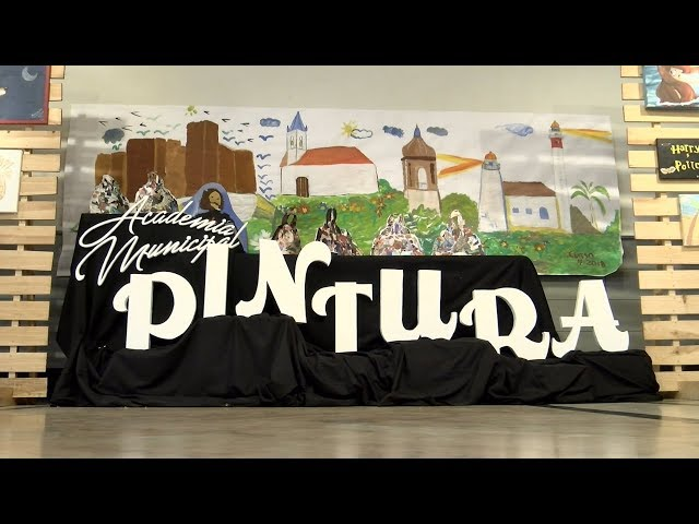 Clausura del curso 2017/18 de la Academia Municipal Infantil de Pintura
