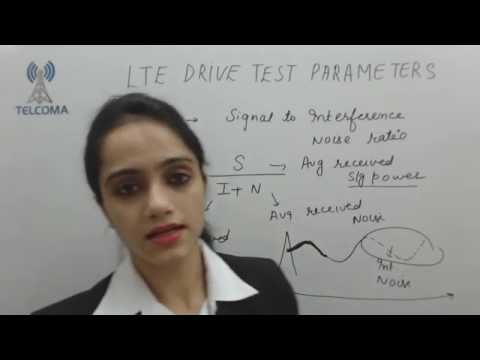 4G LTE Drive Test parameters - TELCOMA