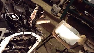 ремонт тойота таун эйс 1992 года выпуска.88 лс турбодизель 2 литра (30) подчасть