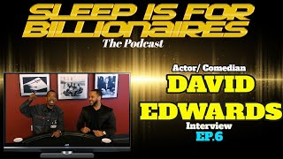 Comedian / Actor DAVID EDWARDS Interview w/ JONNI VEGAZ
