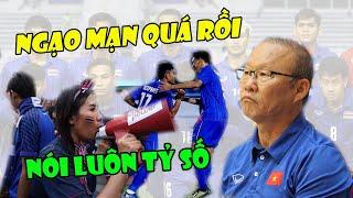 Tin bóng đá VN 4/12: QUÁ NGẠO MẠN ! CĐV Thái Lan NÓI THẲNG kết quả tỷ số với U22 Việt Nam
