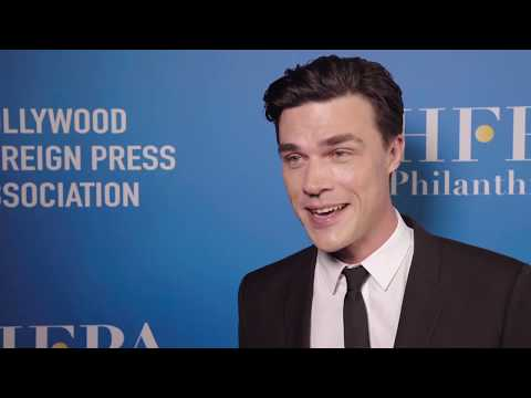 HFPA Grants Banquet 2018 Lounge: Finn Wittrock