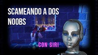 🤓 SCAMMING THE SCAMERS NOOBS/FORTNITE SAVE EL MUNDO/JOSE U 🤓