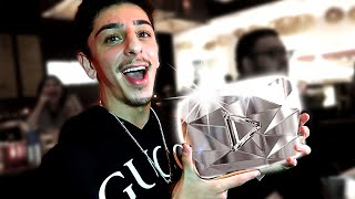 YouTube SURPRISED Me With My 10 Million Subscriber DIAMOND PLAY BUTTON! (ft. FaZeClan)