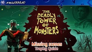 The Deadly Tower of Monsters - Missing scenes (Trophy Guide) rus199410 [PS4]