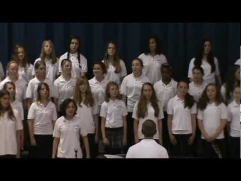 Never There (Cake) - Catonsville Middle School Girl's Choir @ the Spring Concert