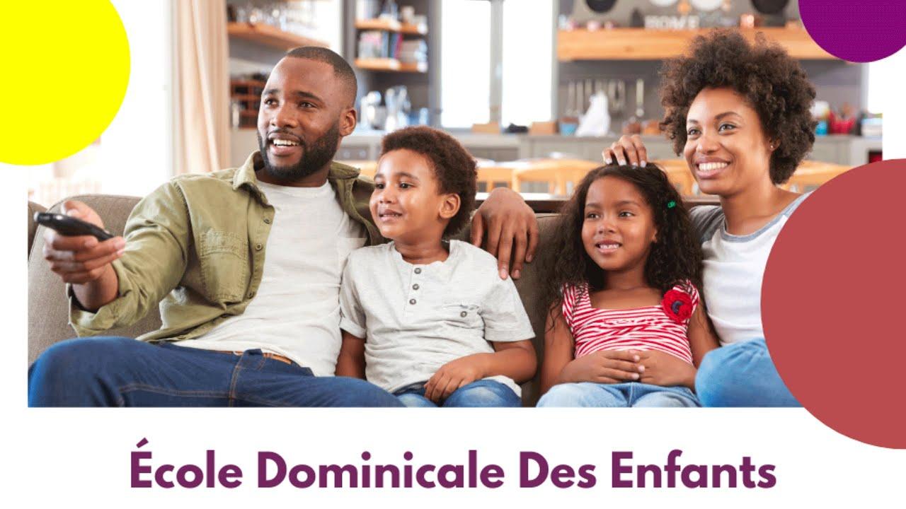 Ecole Dominicale Des Enfants (12 septembre 2021)