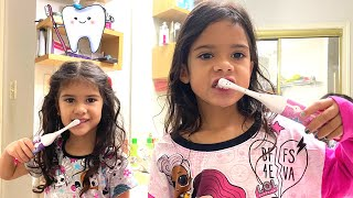 Sam and her Morning Routine | Stories for kids