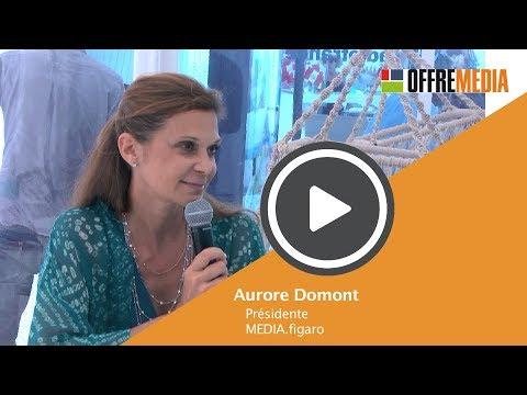 Vidéo : La créativité et la dynamique de Media.Figaro par Aurore Domont