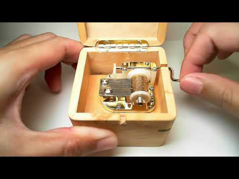Jurassic Park - 2nd Theme [ Custom Tune Music Box ]