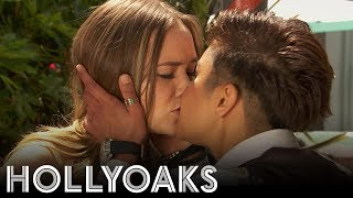 Hollyoaks: Farrah Kisses Kim