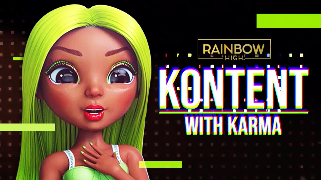 Karma's TOP 5 Looks From Rainbow High's Playoff Game | Kontent with Karma Episode 1 | Rainbow High