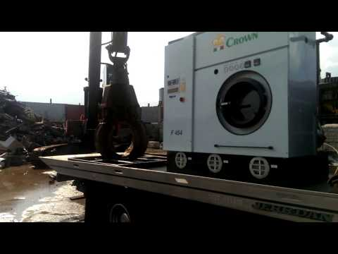 Perc dry cleaning machines final destination after decommisiong by sussex equipment