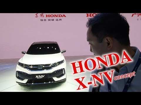 เปิดตัว Honda X-NV ต้นแบบรถยนต์ไฟฟ้า