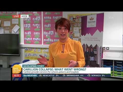 Carillion Collapse: What Went Wrong? | Good Morning Britain