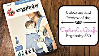 Ergobaby''Софі Ла жираф'' Розпакування та огляд