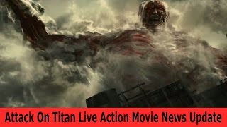 AnimeQnews: Attack On Titan Live Action Movie News Update (Trailer, Release date, Casting)