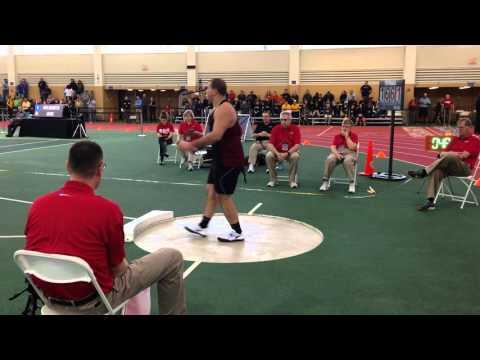 D3 Shot Put Men Final NCAA 3 12 2016