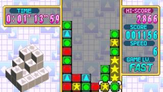 Dr. Mario  and  Puzzle League (GBA) - Vizzed.com GamePlay/Score Attack-3,804 points