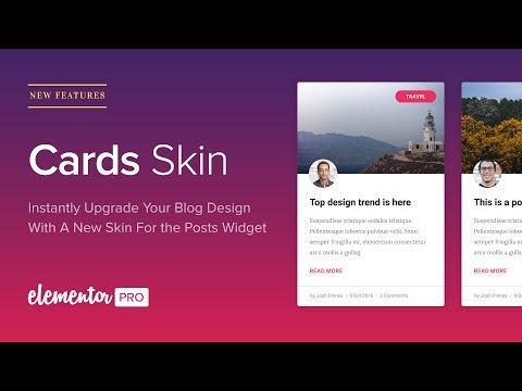 Introducing Cards Skin: Instantly Upgrade Your Blog Design
