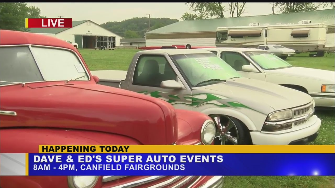 Canfield Swap Meet >> Dave And Ed S Super Auto Events Hosts Antique Car Show At Canfield Fair