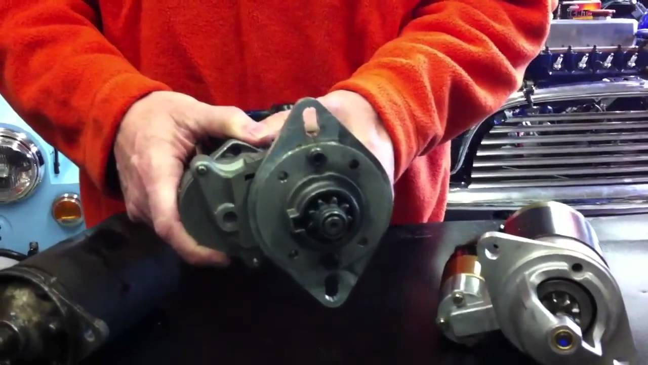 JET Motors • High Torque Starter Upgrade for Classic Mini