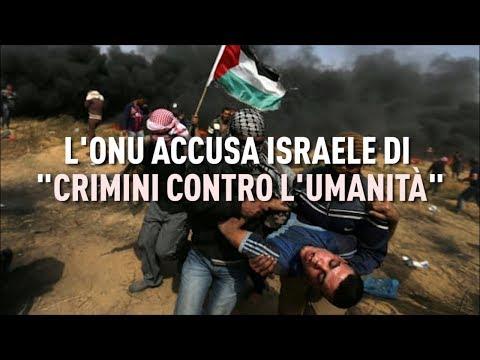 """PTV News - 1.03.19 -  L'ONU accusa Israele di """"crimini contro l'umanità"""""""