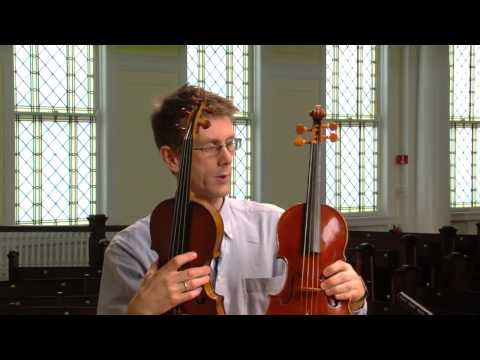 The Baroque Violin and the Modern Violin: Similar, but very Different