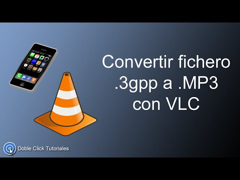Convertir fichero 3gpp a MP3 con VLC | Tutorial