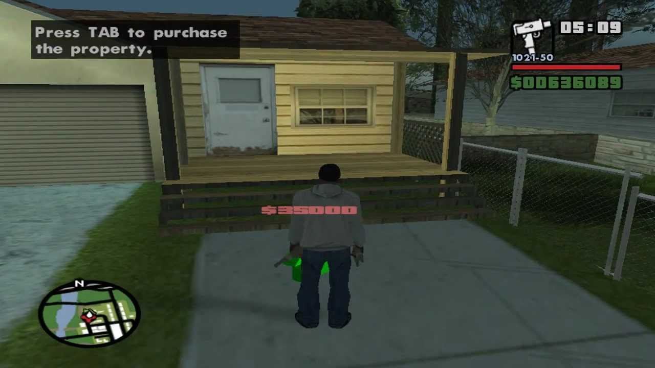 Gta san andreas buying all safe houses properties pc for How to buy a home safe