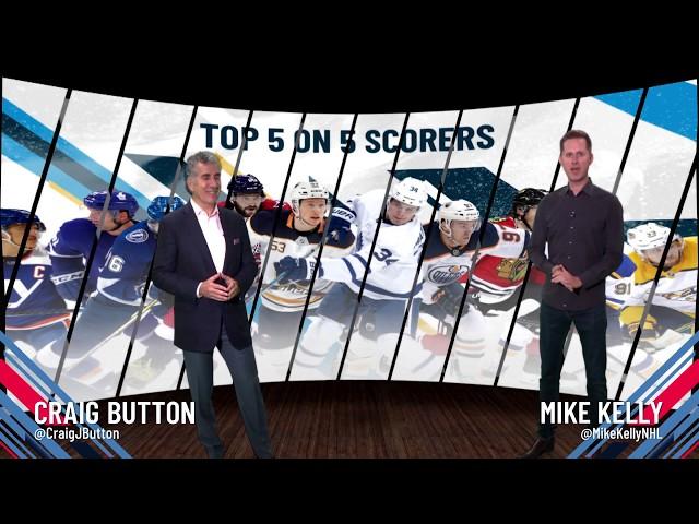 Top 5-on-5 Goal Scorers - Viktor Arvidsson