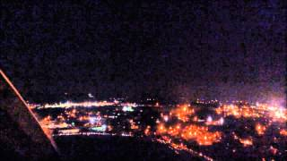 PDK Night Takeoff in the Twin Cessna 340