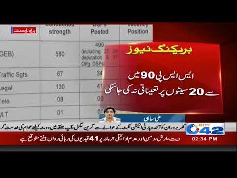 لاہور سمیت پنجاب بھر میں 213 ڈی ایس پیز کی سیٹیں خالی