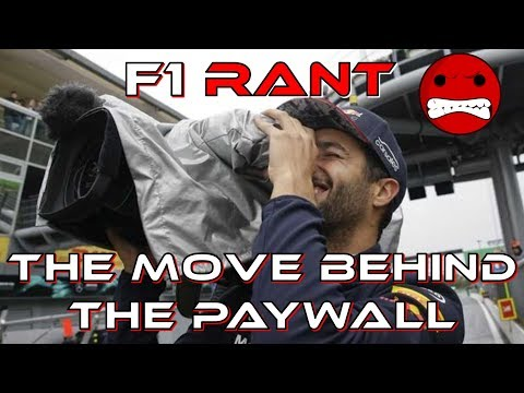 F1 Rant: The Move Behind The TV Paywall