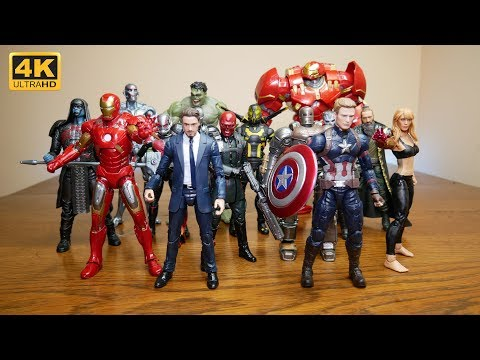 MASSIVE Unboxing! Most (not All) Of The Marvel Legends MCU 10 Years Collection