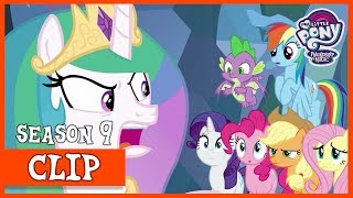 The Mane Six's Escape from the Legion of Doom (The Ending of the End) | MLP: FiM [HD]