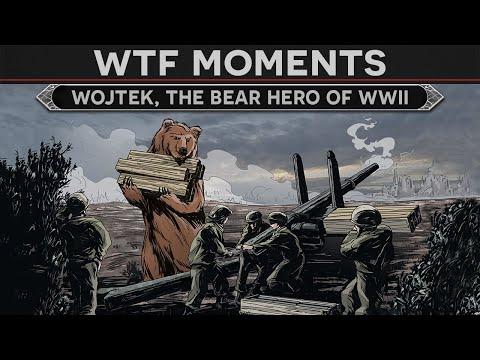 WTF Moments In History - Wojtek, The Bear Hero Of WW2
