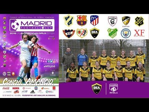 DIA Girls Academy at Madrid Footballcup Girls Edition 2018
