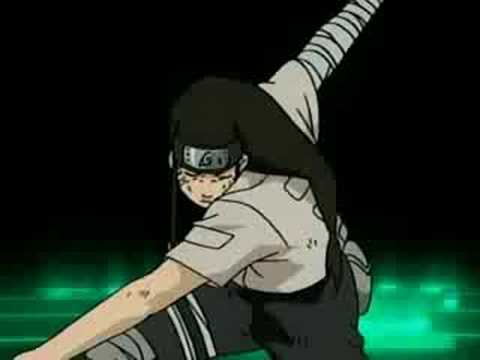 Naruto - Neji vs Kidomaru - To Be Loved and Getting away ...