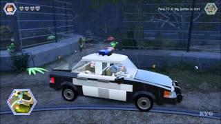 LEGO Jurassic World - All 35 Playable Vehicles Unlocked | Free Roam Gameplay (PC) [HD]