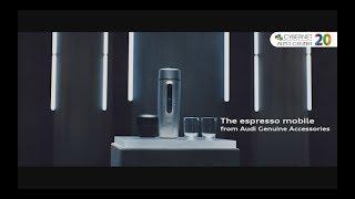 Descoperă Accesoriile Originale Audi ⭕⭕⭕⭕  Espressor mobil la Cybernet Auto Center!