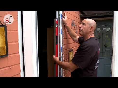 UPVC Door Installation I Fitting The New Door