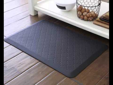 kitchen floor mats grohe faucets repair mat design collection for comfort youtube